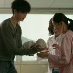 Park Hoon and Baby