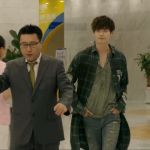 Park Hoon Long Checked Megaton 89 Shirt