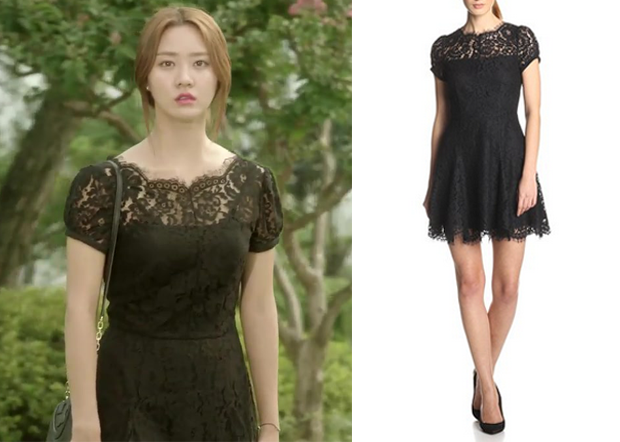 Marriage Not Dating Episode 12 Joo Jang Mis Black Lace Dress