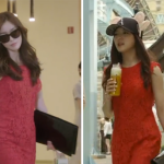 Who Wore it Best: Kang Se-Ah vs. Park Soo-In McGinn Red Lace Dress