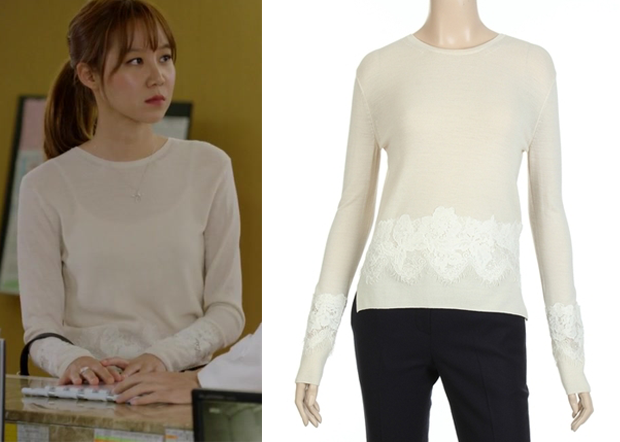 Its Okay Thats Love Episode 14 Ji Hae Soos White Knit Top With