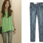 2econd Floor Wallpaper Denim Pants