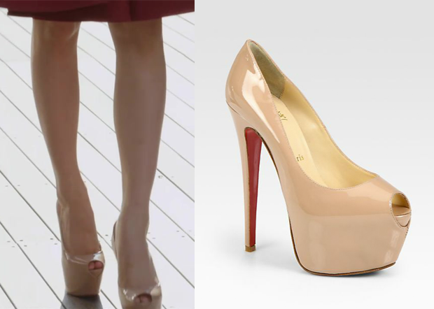 60215bb807a Birth of a Beauty Episode 1: Sara's Nude Platform Pumps - KdramaStyle