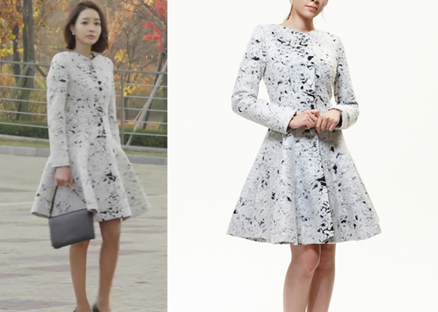 Birth of a Beauty Episode 4: Gyo Chae-Yeon's Wool Flared Coat ...