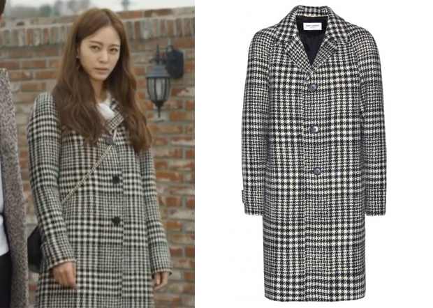 Birth of a Beauty Episode 4: Sara's Houndstooth Coat - KdramaStyle