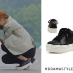 Yoon So Ah's Black Sneakers - Rachel Cox Thank You RT1004B Sneakers in Black