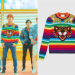J-Hope Wears Gucci Sweater in BTS 'DNA' Music Video