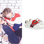 [BTS Love Yourself : Her] V Wears Gucci Sneaker