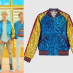 Jimin Wears Gucci Bomber Jacket in BTS 'DNA' Music Video