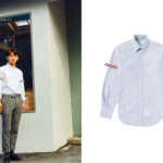 171013 iKon Yunghyeong Wear Thom Browne Shirt on Instagram