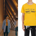 JB Wear Gucci T-Shirt in GOT7 'You Are' Music Video